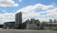 Fonterra's Te Rapa processing facility in the Waikato.
