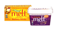 Prosperity Organic Foods' new Melt organic buttery sticks and probiotic buttery spread