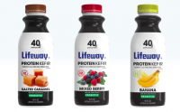 In addition to new flavors, Lifeway has extended its product offerings with a new high protein line.