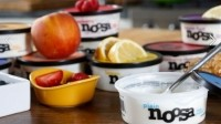 Noosa has a thick, velvety texture, and a tangy flavor co-founder Koel Thomae says isn't as sweet as many traditional US yogurts or as tart as Greek
