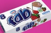 R&R Ice Cream manufactures private label and branded ice cream, including Fab.