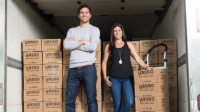Yasso co-founders Drew Harrington and Amanda Klane
